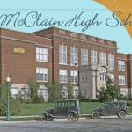 GHS new McClain H.S. book on sale