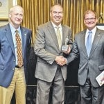 Peterson receives small business award