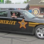 Law enforcement on parade