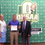 Moberly receives scholarship