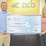 NCB donates to Grow! Highland County