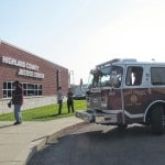 Brief fire halts municipal court proceedings