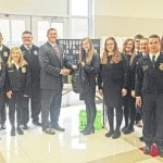 Hillsboro FFA donates filled book bags