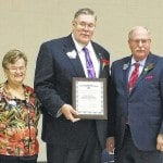 Barr honored at school board conference