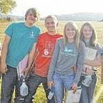 Fairfield FFA competes in soils judging event