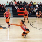 Lady Cats' sweep LC