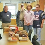 Homeless shelter Thanksgiving