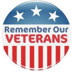 Veterans will be honored in county