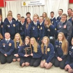 Mowrystown FFA National Chapter Award