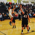 LC girls beat up on WHS 74-30
