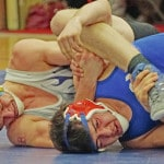 McClain wrestling drops two at Clinton-Massie