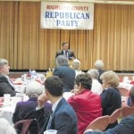 Nearly 200 attend Highland County Lincoln Day Dinner