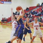 Lady Tigers slip by Lady Indians 52-48