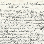 Burns letters offer glimpse back to 1800s
