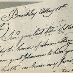 Letters offer glimpse of long ago