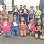 Altrusa gives 3rd grades chapter books