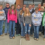 HHS FFA livestock team places 5th in state