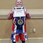 Local wrestlers compete in NUWAY