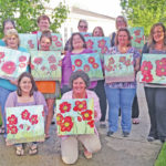 Paint, sip, create at Bell Gardens