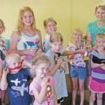 Highland Harvesters visit shelter