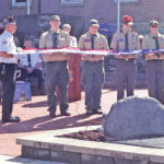 Scouts assist Highland County Honor Guard