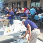 Merchants Bank holds annual cookout