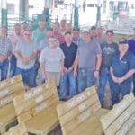 Benches donated to fair board