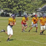 First week of practice for the McClain Tigers