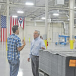 Wenstrup tours Corvac in Greenfield