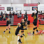 Lady Mustangs sweep Lady Lions