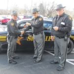 VIDEO: Sheriff gets keys to cruiser, substation to tackle Rocky Fork Lake crime