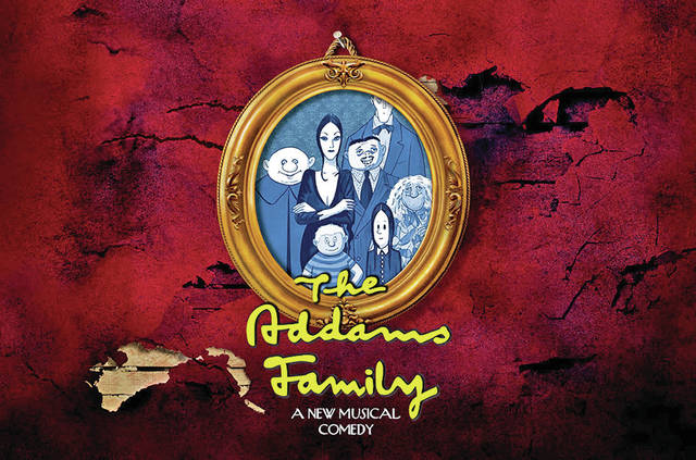 """The Addams Family"" will take the stage July 13-16 at the Wilmington College Hugh G. Heiland Theatre."