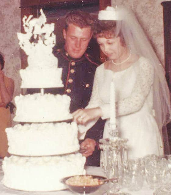 Jerry and Nancy Robinson of Hillsboro will celebrate their 50th wedding anniversary on July 2. They were married July 2, 1967 at the First Christian Church in Wilmington by the Rev. Randall Griffith.