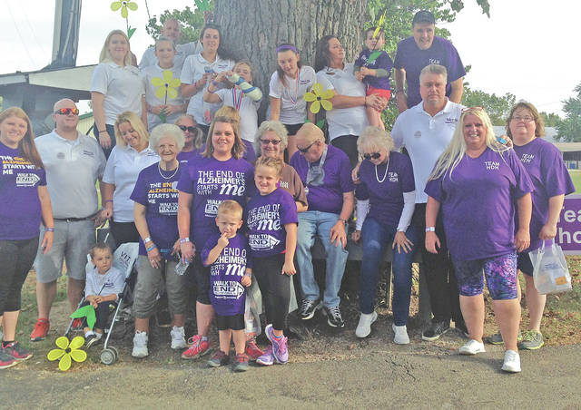 This team representing Highland District Hospital in Hillsboro participated in last year's Adams, Brown & Highland Counties Walk to End Alzheimer's.