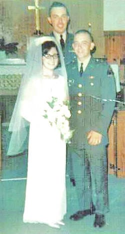 Mr. and Mrs. Ronald and Carolyn (Hoggatt) Inlow will celebrate their 50th wedding anniversary. They were married on July 15, 1967 in Fort Knox, Ky. They have two children, Kelly Greene of Lynchburg and Kathy (Scott) Bennett of Hillsboro; four grandchildren, Kaitlan (Michael) Hollon of Hillsboro, Joseph and Emily Greene of Lynchburg, and Sydney Bennett of Wilmington; and three great-grandchildren, Preston, Brodie and Jaydan Hollon, all of Hillsboro. For their celebration the couple is planing a dinner train ride through Kentucky.