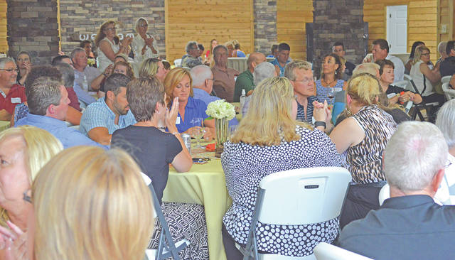 The Highland County Chamber of Commerce celebrated 27 years with a Party in the Country recently at the Back Room Paradise.