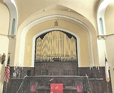 The historic 1889 Felgemaker pipe organ at the First Presbyterian Church in Hillsboro will be rededicated on Sunday, July 9 at 3 p.m.