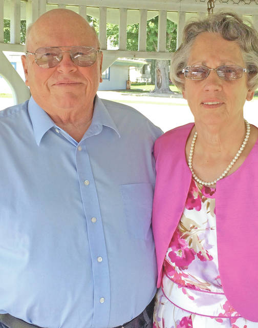 Richard and Rita (Tissot) Carr will celebrate their 50th wedding anniversary on Aug. 6, 2017. They were married on Aug. 6, 1967, at the Mowrystown Presbyterian Church. The couple has three children, Christa Carr, Jim (Kim) Carr and Holly (Michael) McLean. They also have three grandchildren, Maggie, Atlee and Lydia Carr. A reception will be held in their honor on Saturday, Aug. 5 from noon to 4 p.m. at the Carr Farms warehouse (2655 Taylorsville Road). The couple requests no gifts please, only the honor of your presence.
