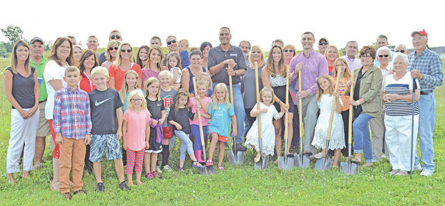 The Highland County Chamber of Commerce and Grow Highland County held a ground-breaking ceremony Monday for Buckeye Dentistry, LLC.