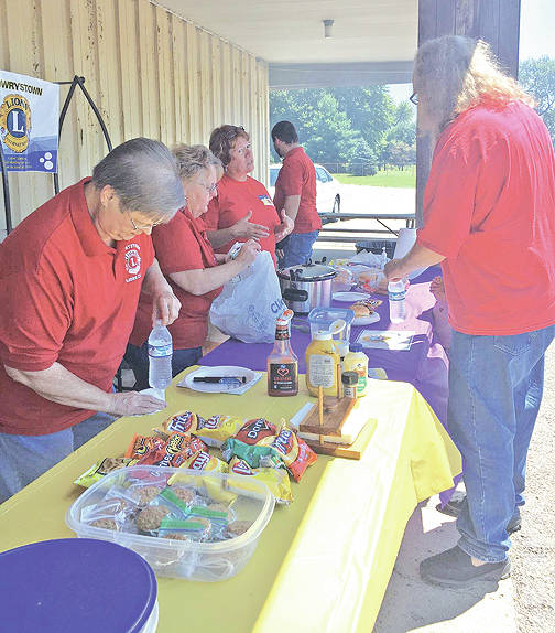 The Mowrystown Lions Club participated in a community cookout fundraiser last Saturday at Kibler Lumber in Mt. Orab. The club raised more than $370 to be used for outreach projects in and around the Bright Local School District area. The club expressed special thanks District 13 OH6 District Governor John Bond for supporting it all the way from Germantown, Ohio. The Mowrystown Lions Club's purpose is to serve its communities. The club is seeking new members. Its next meeting is at 6:30 p.m. Monday, Aug. 14 at the Old Y Restaurant. Everyone is welcome.