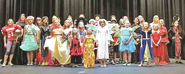 """The Paxton Theatre Summer Youth Program cast for """"Shrek The Musical Jr."""" is pictured. The show will be presented this Friday, Saturday and Sunday in the historic Bainbridge theatre."""