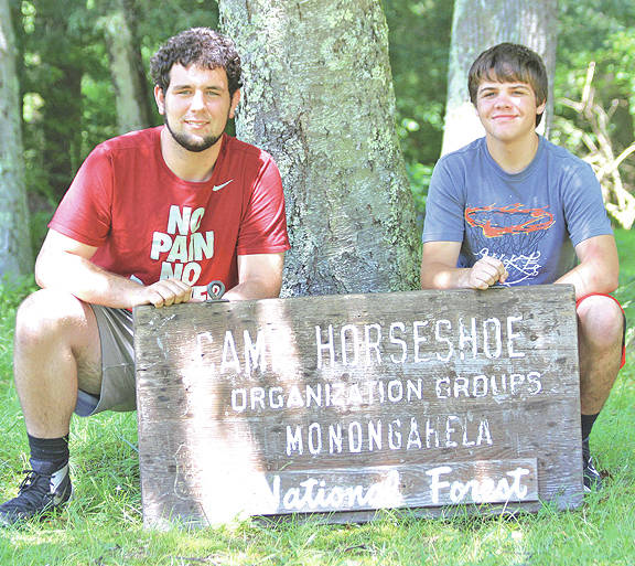 Fairfield High School students Garrett Irvin and Phoenix Taylor recently attended the 78th Teen Leadership-Service Summit at the Horseshoe Leadership Center in St. George, W.Va.