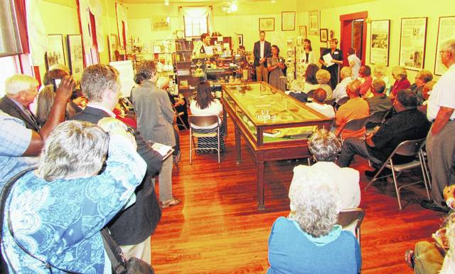 """In June, the Highland County Historical Society held a reception at the Highland House Museum to open its traveling exhibit on Brown v. Board of Education and its permanent exhibit on the Lincoln school. The """"marching mothers"""" are being inducted into the Ohio Civil Rights Hall of Fame on Oct. 5."""