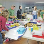 Junior leaders help Operation Christmas Child