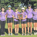 McClain High School girls golf team places second in district tournament