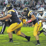 McClain hosts Washington in Greenfield lose 42-10