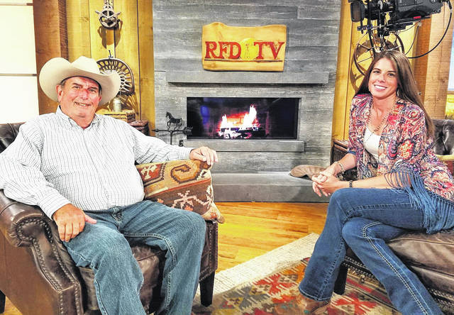 """Tom Seay and Kristen Biscoe of """"The Best of America by Horseback"""" will be on hand in early November as Bainbridge and the Paxton Theatre play host to special Christmas-themed programs honoring the military."""
