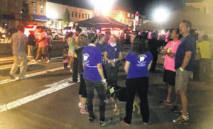 Taste of Highland County, Hope for Highland Glow Run under perfect skies