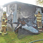 Fire destroys RFL area trailer