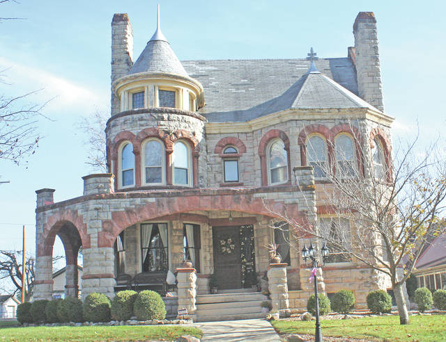 The Jeff and Carrie Payton home at 233 S. Second St. in Greenfield was originally completed in 1900. It will be part of the 13th annual Greenfield Historical Society Christmas Tour of Homes on Dec. 3.